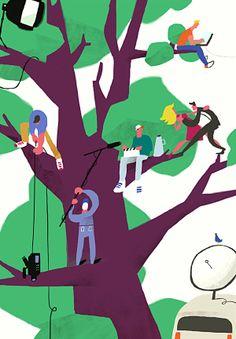 Various Illustrations, set 11. by Sergiy Maidukov, via Behance