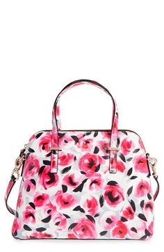kate spade new york 'cedar street - maise' leather satchel available at #Nordstrom