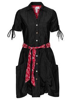 Sukienka dżinsowa Z kontrastowymi szwami • 139.99 zł • bonprix