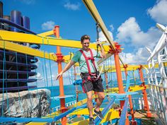 Norwegian Escape | Ropes Course and Sports Complex | Norwegian Cruise Line