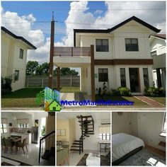 ASPEN House model - Furnished Single Detached House and lot in Lipa Batangas. LIPA BATANGAS IS JUST AN HOUR DRIVE FROM METRO MANILA VIA SLEX THEN STAR TOLL. For more info, visit my website www.metromanilaestates.com