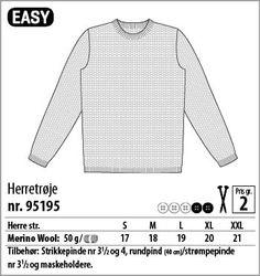 Herretrøje – 95195 - Stof & Stil