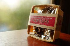 Cranberry Hazelnut Crisps by Potter's Crackers