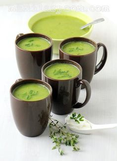 Manila Spoon: Zucchini Soup - deliciously good and so healthy, too! #zucchini #soup