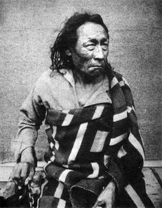 Cree Chief Big Bear at Stony Mountain Penitentiary, 1885. Source: National Archives of Canada