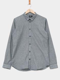 Dr. Denim / Damian Shirt | Dark Grey Mix