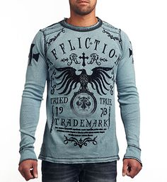 Men's Thermal Shirts - Long Sleeve & Hooded | Affliction Clothing