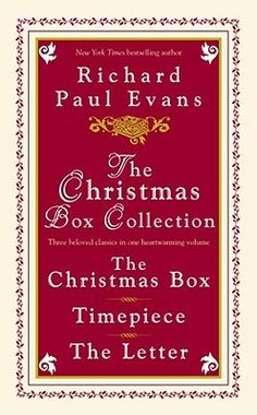 I LOVE Richard Paul Evans' books. Beautifully written. Have only read a couple. . . can't wait to read more!