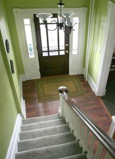 1000 images about feng shui in the main entry on for Feng shui bedroom door facing stairs