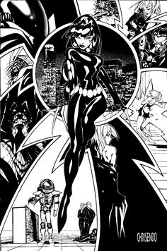 Catwoman by Chris Bachalo