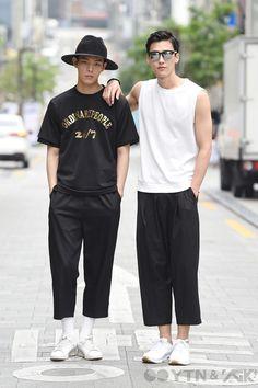 남성들의 와이드 팬츠, 어떻게 입을까?