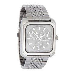 Rjr.John Rocha Men's Dark Grey Square Chronograph Dial Bracelet Watch in Jewellery & Watches   eBay