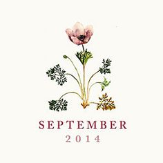 Our September printable calendar.