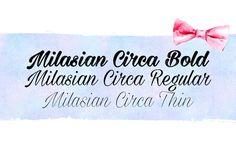 DLOLLEYS HELP: Milasian Circa Free Font