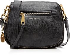 Marc Jacobs Recruit Small Leather Saddle Bag
