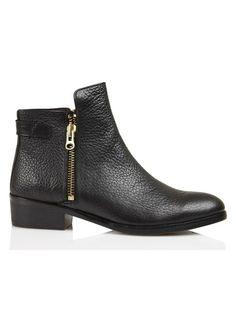E-shop Boots En Cuir Jazz Noir Craie pour femme sur Place des tendances Groupe Printemps. Retrouvez toute la collection Craie pour femme.