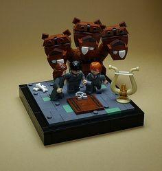 27 increíbles viñetas de LEGO dan vida a Harry Potter- 27 unglaubliche LEGO-Kugeln erwecken Harry Potter zum Leben - # harry # unglaublich Legos, Lego Hogwarts, Anniversaire Harry Potter, Amazing Lego Creations, Theme Harry Potter, All Lego, Lego Worlds, Lego News, Lego Design
