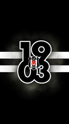 BJK. 1903 Black Eagle, Black Wallpaper, Team Logo, Black And White, Logos, Pictures, Design, Erdem, Iphone
