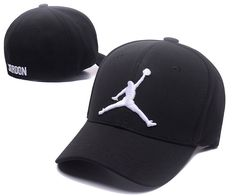 e1aba01f93c5c0 Men s   Women s Nike Air Jordan White Jumpman Embroidery Logo Flexfit Hat -  Black