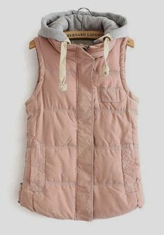 FASHION TURKEY: Sleeveless Ladies Hood Jacket