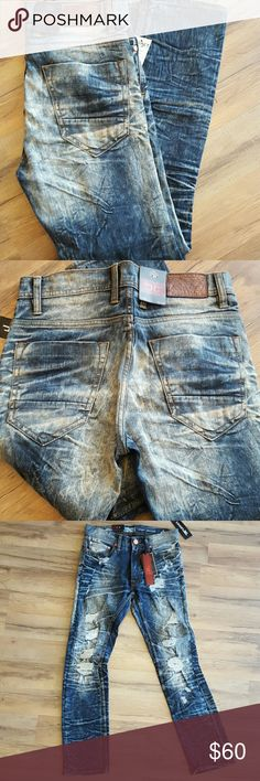 b80ab388241 Legacy Edition Jean's Jordan Craig jeans for men. These jeans have a foe  rough look