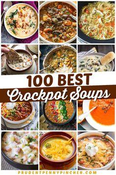 Vegetarian Crockpot Soup, Easy Crockpot Soup, Healthy Chicken Soup, Gourmet Chicken, Chicken Soups, Crockpot Dishes, Crock Pot Soup, Crock Pot Slow Cooker, Easy Soup Recipes