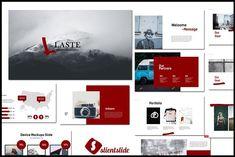 Laste Creative Powerpoint by Slientslide on @creativemarket