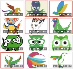 These are the 12 Potential LibreOffice Mascots