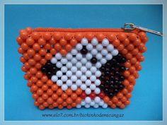 Seed Bead Crafts, Beaded Crafts, Bead Jewellery, Diy Jewelry, Jewelry Making, Beaded Boxes, Beaded Purses, Beading Projects, Beading Tutorials