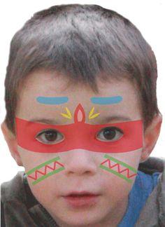 Maquillage enfant Indien , Tuto maquillage enfant - Loisirs créatifs