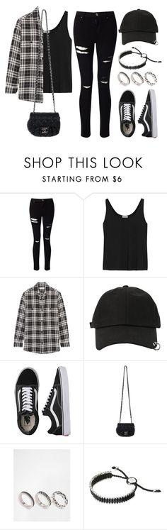 """Sin título #12724"" by vany-alvarado ❤ liked on Polyvore featuring Miss Selfridge, Totême, Yves Saint Laurent, StyleNanda, Vans, Chanel, ASOS and Links of London"