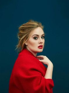 Adele - Something about the way she looks at the camera <3