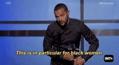 Support Our Black Women says Jesse Williams