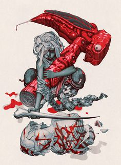 Fantastic pieces of art by James Jean