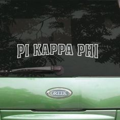 Chi Phi Stadium Sticker is designed for the outside of car windows or any opaque surface and only comes in white. This product is great for tinted windows. Chi Phi stadium sticker comes as shown. Measures - in height, length varies. Theta Delta Chi, Alpha Kappa Lambda, Delta Upsilon, Sigma Alpha Epsilon, Alpha Delta, Delta Sorority, Phi Mu, Tau Gamma, Tri Delta
