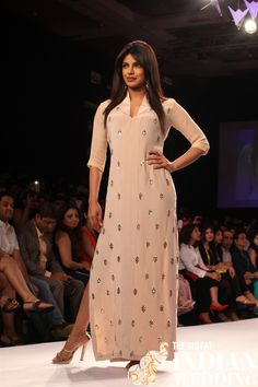Priyanka Chopra for Neeta Lulla - Lakme Fashion Week 2014