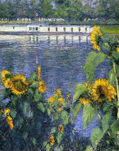 French Impressionist painter Gustave Caillebotte  (1848-1894)
