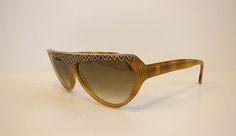 Fabulous Vintage Laura Biagiotti Optical Illusion Sunglasses