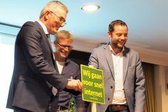 Donderdagavond hebben Henk Jumelet, René van der Weide en Gerard Scholten Reimer het startsein gegeven voor de inventarisatiecampagne.