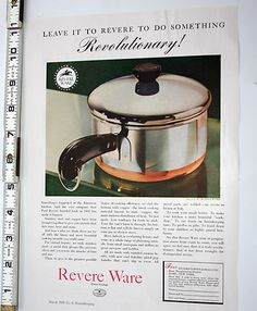 1000 Images About Revere Ware Ads On Pinterest Ware