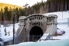 Most People Have No Idea This Unique Tunnel In Colorado Exists Colorado Homes, Colorado Springs, Colorado Trip, Colorado Country, Boulder Colorado, Places To Travel, Places To See, California Zephyr, By Train