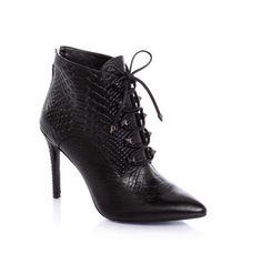 Bottines Femme Guess, craquez sur les Kylera Python Print Ankle Boot Guess prix promo GUESS 225.00 € TTC