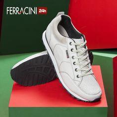 Mais esportividade e conforto para o final do ano!  #ferracini24h #shoes #cool #trend #brasil #manshoes #natal