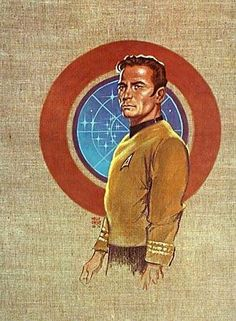 Amazon.com: CAPTAIN JAMES T. KIRK PRINT BY KELLY FREAS 1975 STAR TREK SCIENCE FICTION CONVENTION: Kelly Freas: Collectibles & Fine Art