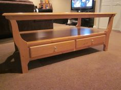 Ethan Allen Table in Naperville this one done in gray