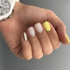 Semi-permanent varnish, false nails, patches: which manicure to choose? - My Nails Gelish Nails, Shellac, Manicures, Nails 2018, Elegant Nails, Super Nails, Nagel Gel, Perfect Nails, Trendy Nails
