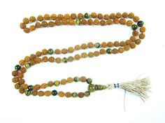 Kundalini Awakening Tiger Eye Healing Japa Mala Mediation Abundance and Prosperity 108+1