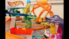 Hot Wheels Dino Challenge, Shark Bay , Trick Tracks