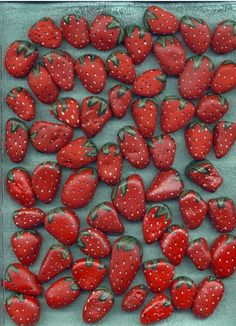 Strawberries-rocks