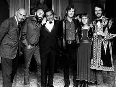 Songwriter Kris Kristofferson, third from the right,